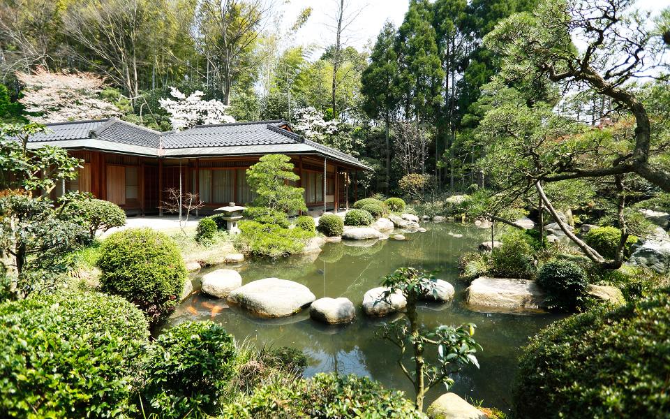 湯之助の宿 長楽園 日本庭園
