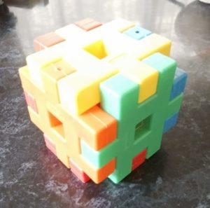 学研のニューブロックで作った箱