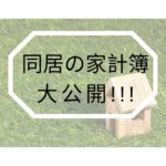同居の家計簿大公開!!!
