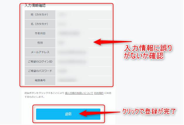 U-NEXT:パソコンから無料トライアルへ申し込む方法6
